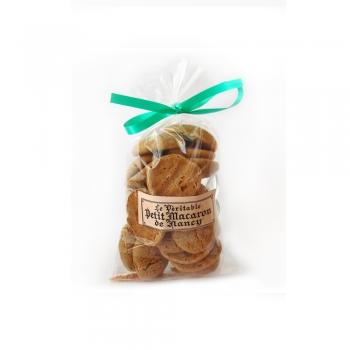 Un sachet de Petits Macarons de Nancy. Suggestion de présentation.