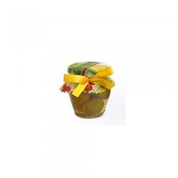 Un pot de Mirabelles à l'eau de vie