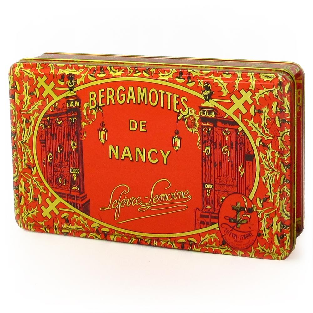 """Nos boîtes """"Prestige"""" de Bergamottes de Nancy. Poids : 1 kg"""