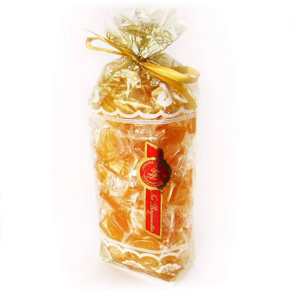 Nos grands sachets de Bergamottes de Nancy. Poids : 0,75 kg