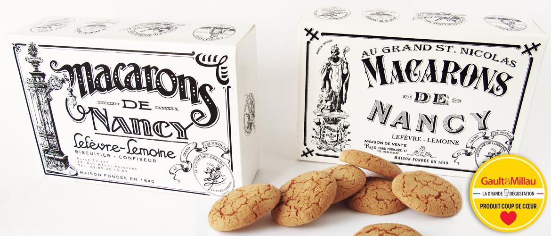 Macarons de Nancy de la Maison Lefèvre-Lemoine