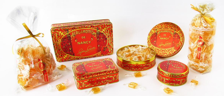 Bergamottes de Nancy de la Maison Lefèvre-Lemoine ( bergamotes )
